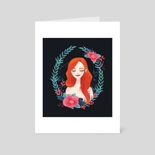 EVA - Art Card by Alexandria  Siah