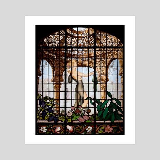REAR WINDOW by Gloria Sánchez