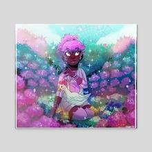 Hydrangea Soft!! - Acrylic by CaptainGelio