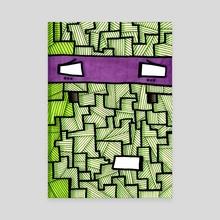 TMNT Nonsense #4: Donatello - Canvas by Marc Kusnierz