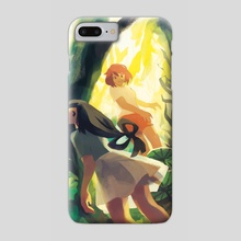 Tsuyu and Ochako - Phone Case by fenkko