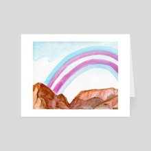 Pride in the Mountains - Art Card by jasper