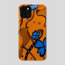 70's print  - Phone Case by Lauren Scott