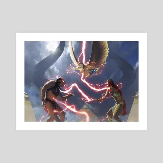 Chain Lightning by Igor Kieryluk