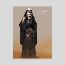 Dune_Bene_Gesserit - Canvas by Bruno Gauthier Leblanc