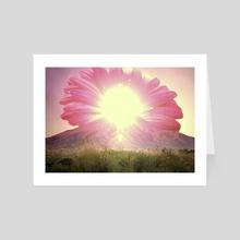 Sunrise Blossom - Art Card by mtforlife