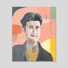 George Orwell - Acrylic by hanna something
