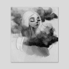 Oneirataxia - Acrylic by Tina Carbone