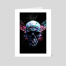 Skull - Art Card by Nikita Abakumov