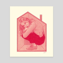 Cramped at Home - Canvas by Selim AYHAN