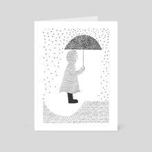 Rain of thoughts - Art Card by Nu Lines