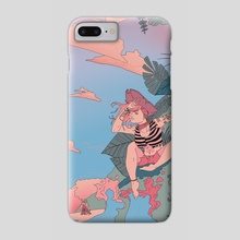 Pirates Life for Me - Phone Case by Eli Hamilton