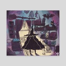 Witch's Cabin - Canvas by Matt Marblo