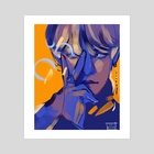 V - Art Print by Sol Miceli