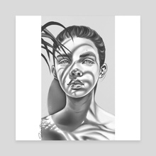 The Girl from Ipanema - Canvas by Sebastián Zapata