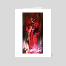 Cursed Cardinal - Art Card by Blanche