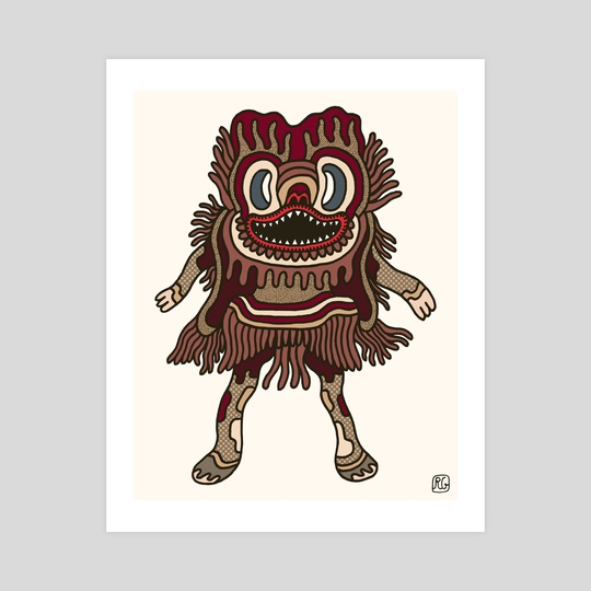 Olmeca Monster of the day (May 31) [Year 1] by Royal Glamsters