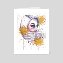 Freya - Art Card by Maureen Fletcher