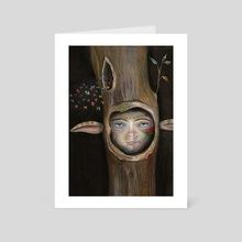 Tree Life - Art Card by Catherine Swenson