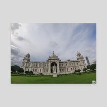 Victoria Memorial. - Canvas by Parag Phadnis