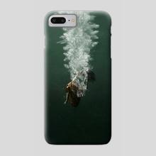shape of water - Phone Case by Sergiy Fett