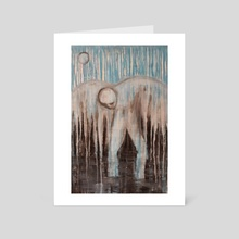 Up From the Depths  - Art Card by Sarah Blakeman