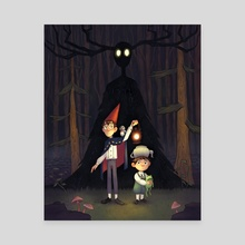 Over the Garden Wall - Canvas by Alyssa Tallent