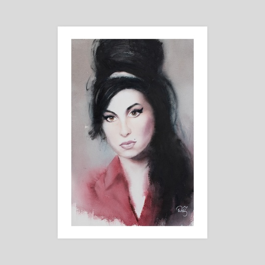 Amy Winehouse by Wout de Zeeuw