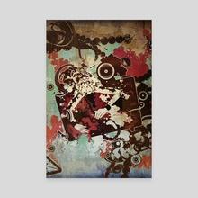tv monkey 1 - Canvas by wudufu