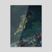Ascension 2 - Acrylic by Mark Orzechowski