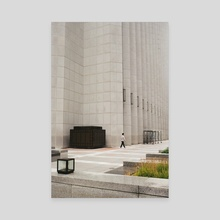 Pedestrian - Canvas by Turner McElroy
