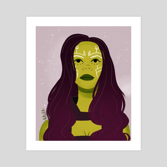 Girl also known as Gamora by Kalea Clark