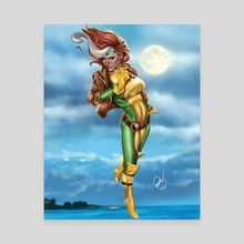 Rogue - Canvas by Pete Tapang