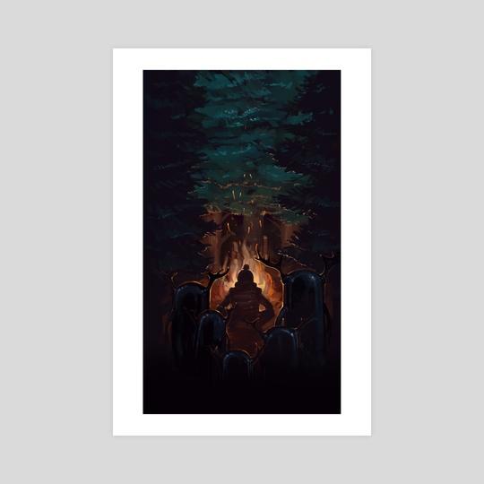 night wood by Pavel