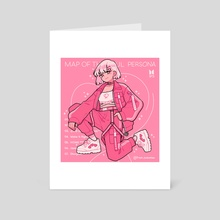 Map of the Soul Persona  - Art Card by fresh_bobatae