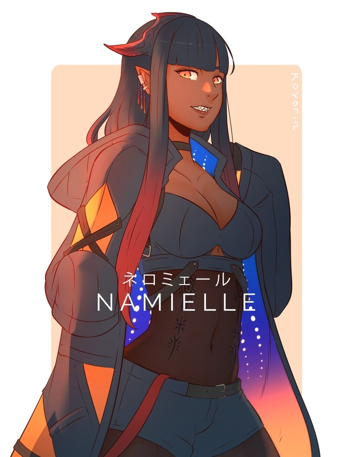 Namielle An Art Print By Koyorin Inprnt Join facebook to connect with danielle armour and others you may know. namielle by koyorin