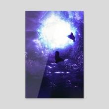 Manta - Acrylic by Yams