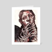 teeth (original) - Art Card by Coschor