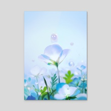 The Dew spirit - Acrylic by Liz Lim