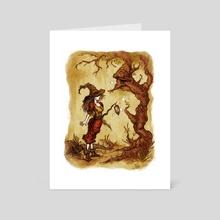 Encounter - Art Card by Jonathan Calsolaro