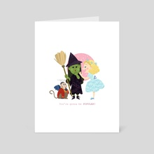 You're gonna be POPULAR! - Wicked - Art Card by Ariel Hsu