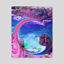monterey reverie. - Canvas by fuschia blue