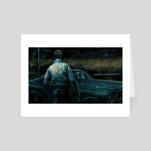 DRIVE - Art Card by Vincent Nappi