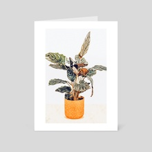 Botany II - Art Card by 83 Oranges
