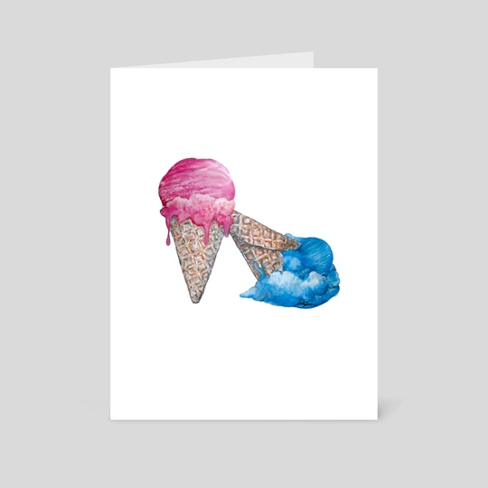 Ice Cream Shoe by whitney anderson