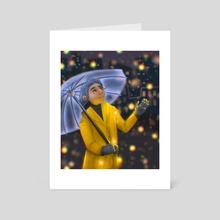 Light Sprinkle - Art Card by crystal chavez
