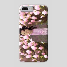 magnolia tree - Phone Case by Lara Paulussen