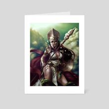 Athena - Art Card by Christian Ugarte