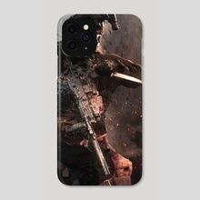 THE REAPER - Phone Case by titiartist
