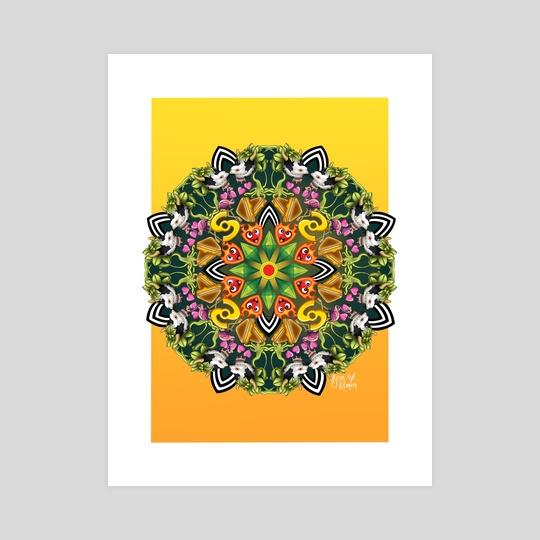 The Sims Mandala by Demi Taylor